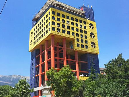 Turquia edificio ridiculo google