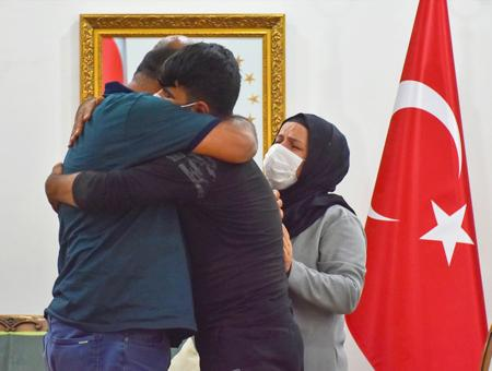 Turquia familia hijo pkk