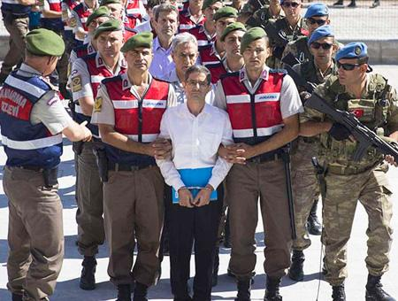 Turquia juicio golpistas 2016