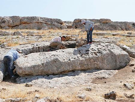 Turquia monolito yacimiento karahantepe