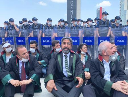 Turquia protestas abogados