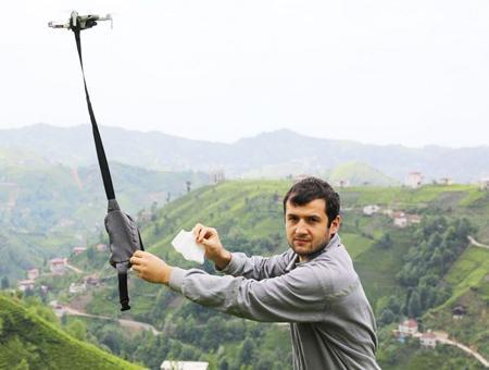 Turquia pueblo mascarillas drones