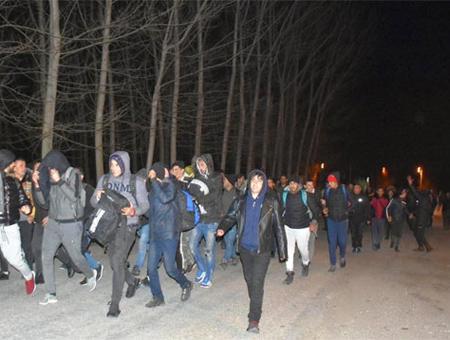 Turquia refugiados frontera grecia