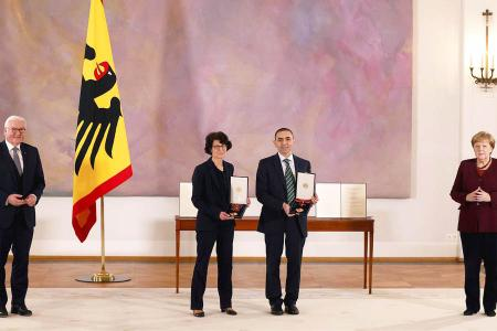Alemania premio fundadores biontech