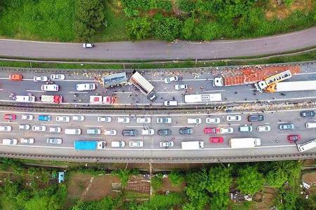 Turquia accidente autopista izmit