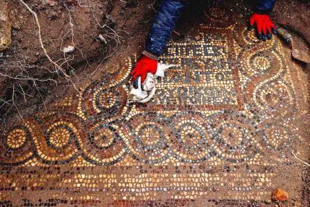 Turquia mosaicos monasterio romano