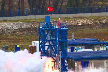 Turquia motor cohete mision luna
