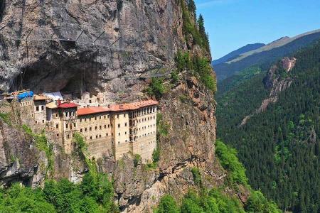 Turquia restauracion monasterio sumela trabzon