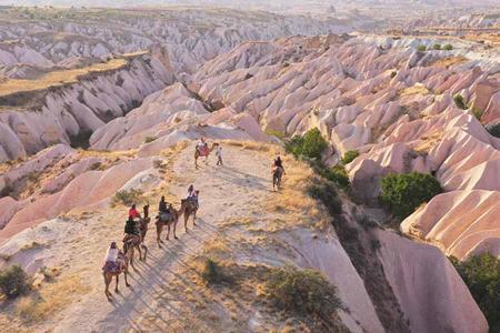 Turquia turistas capadocia