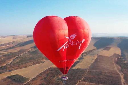 Turquia vuelos globo gobeklitepe